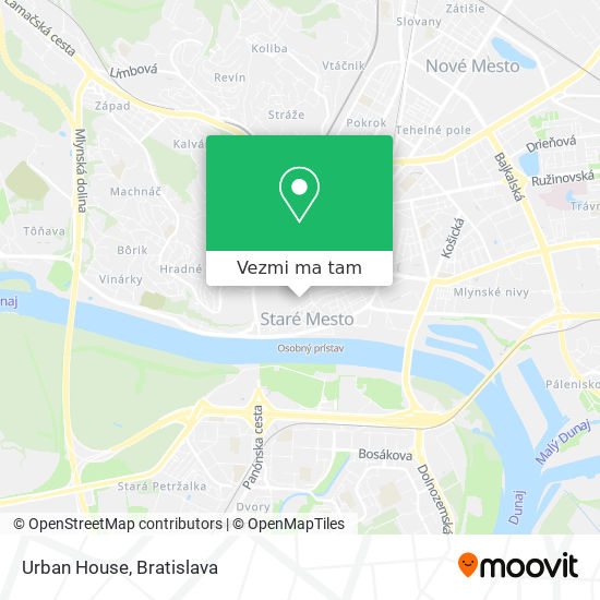 Urban House mapa
