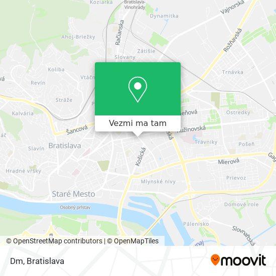 Dm Drogerie Markt mapa