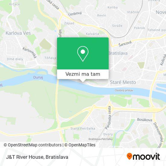 J&T River House mapa