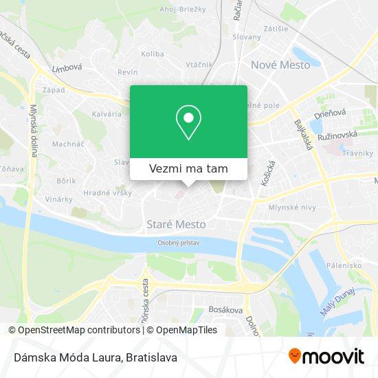 Dom Módy Amadeus mapa