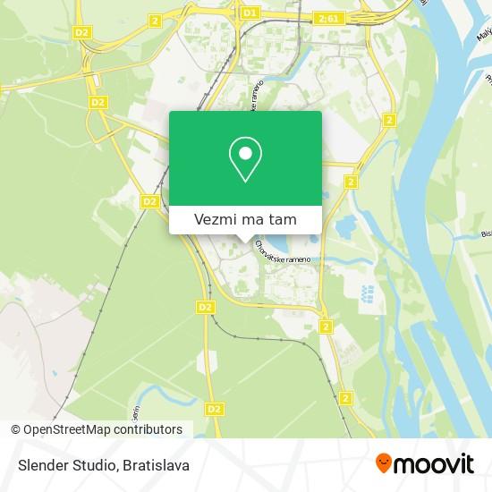 Slender Studio mapa