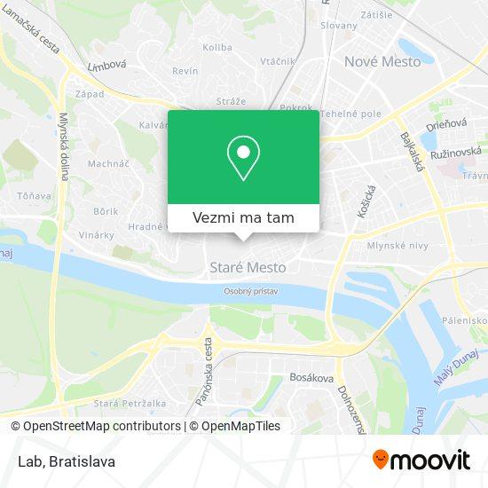 Gastro U Jakuba mapa