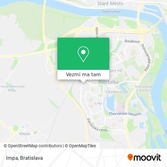 Impa mapa