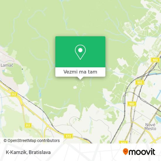 K-Kamzik mapa