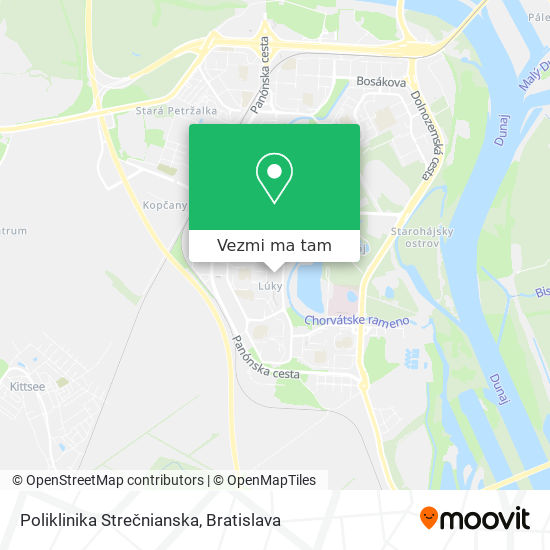 Medicentrum mapa