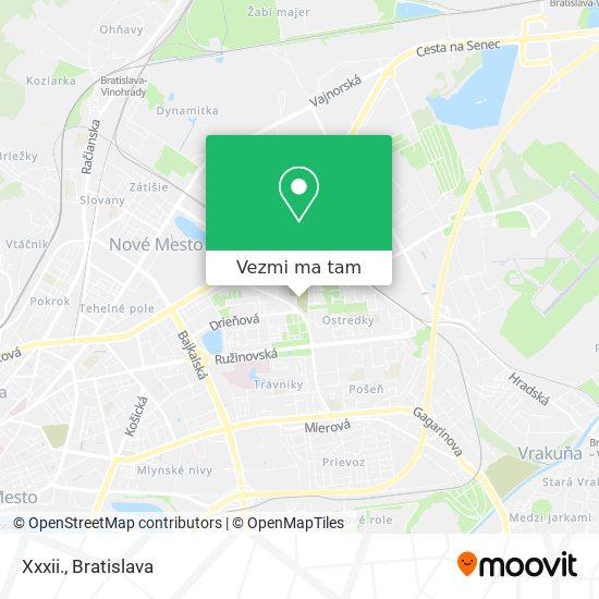 Xxxii. mapa