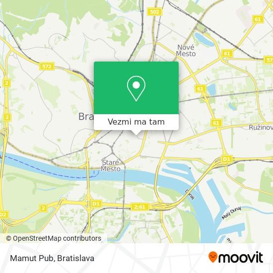 Mamut Pub mapa