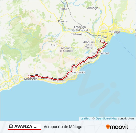 AVANZA L-603 Route: Time Schedules, Stops & Maps ... on