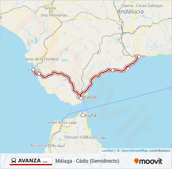K303274sten Andalusien Karte.Cadiz Karte Spanien