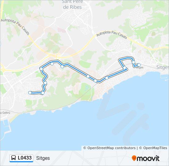 Karta Over Sitges Karta 2020