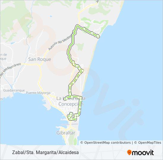 Mapa de LC-3 de autobús