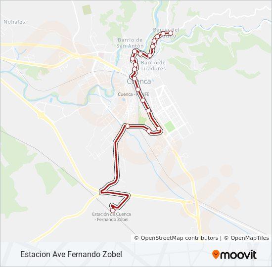 L1 bus Line Map