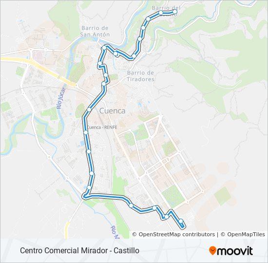 L2 bus Line Map