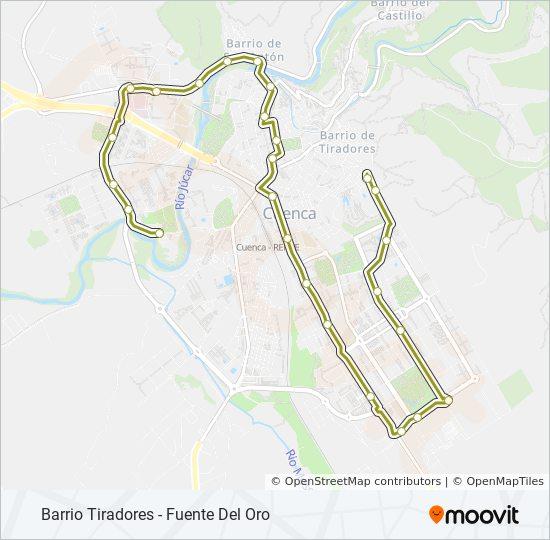 L6 bus Line Map