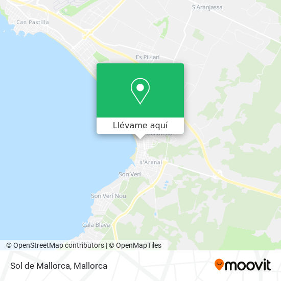 Mapa Sol de Mallorca
