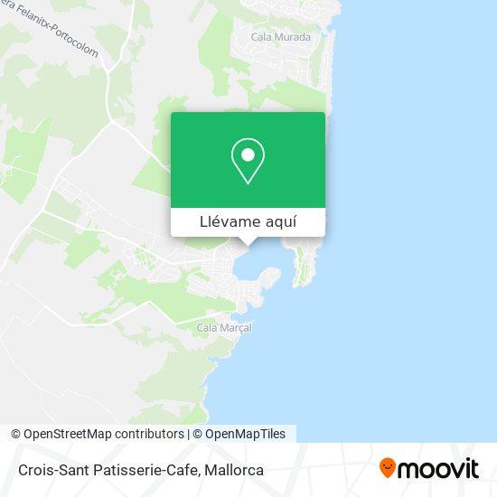 Mapa Crois-Sant Patisserie-Cafe