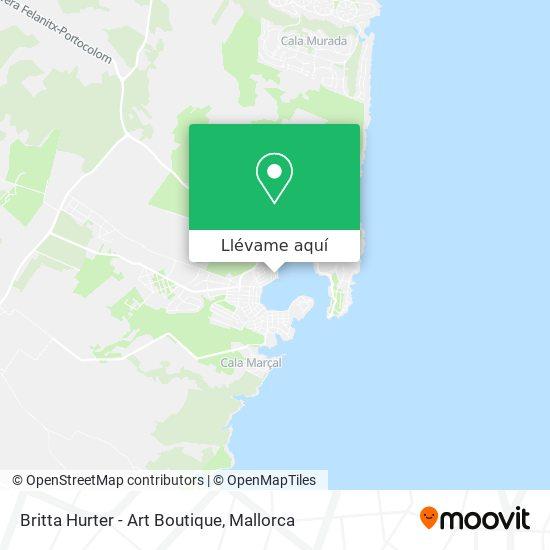 Mapa Britta Hurter - Art Boutique