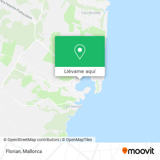 Mapa Florian