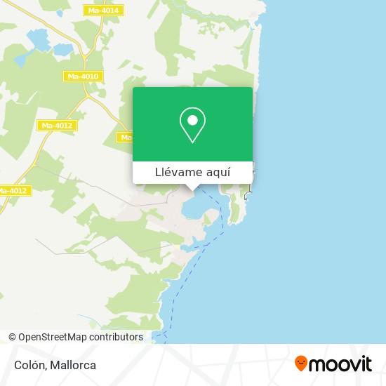 Mapa Colón