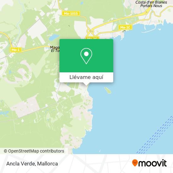 Mapa Ancla Verde