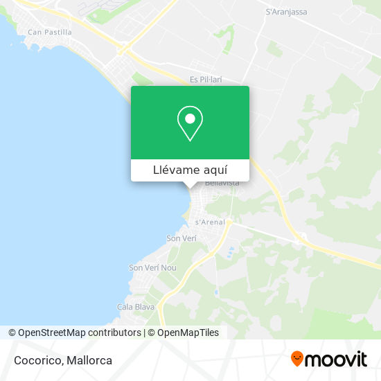 Mapa Cocorico