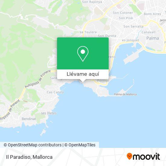 Mapa Il Paradiso