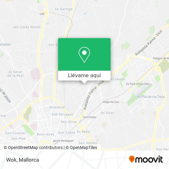 Mapa Wok