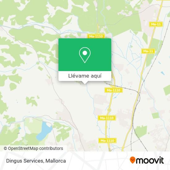 Mapa Dingus Services