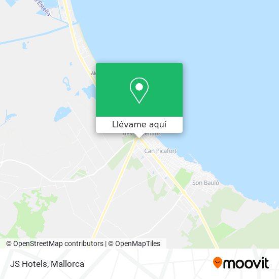 Mapa JS Hotels