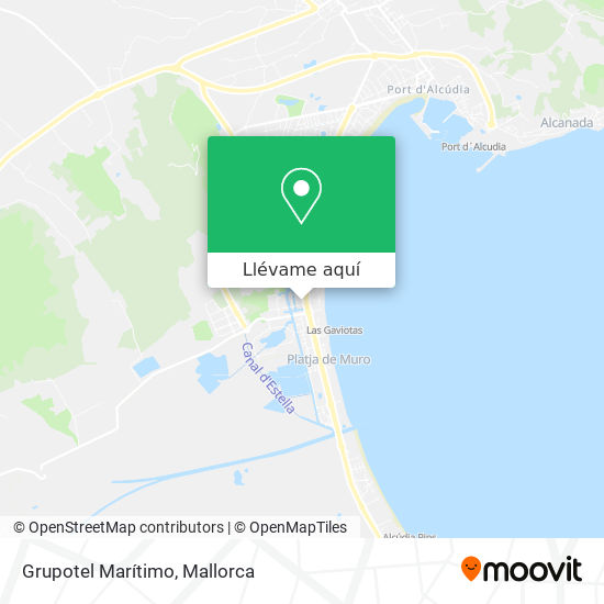 Mapa Grupotel Marítimo