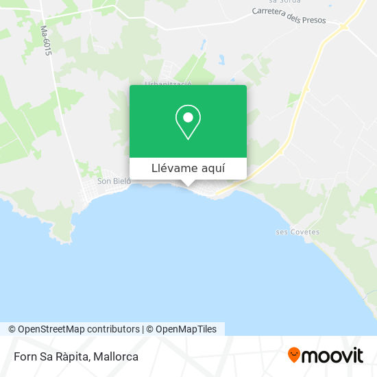 Mapa Forn Sa Ràpita