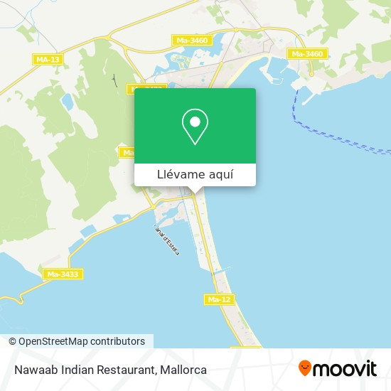 Mapa Nawaab Indian Restaurant