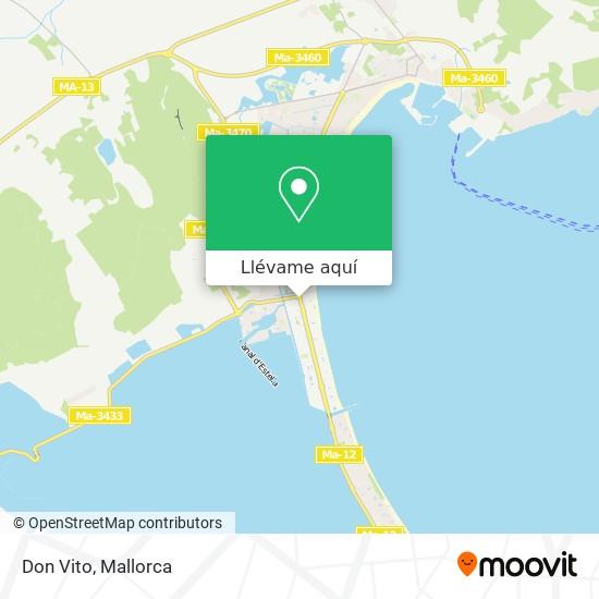 Mapa Don Vito