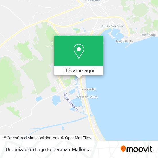 Mapa Urbanización Lago Esperanza