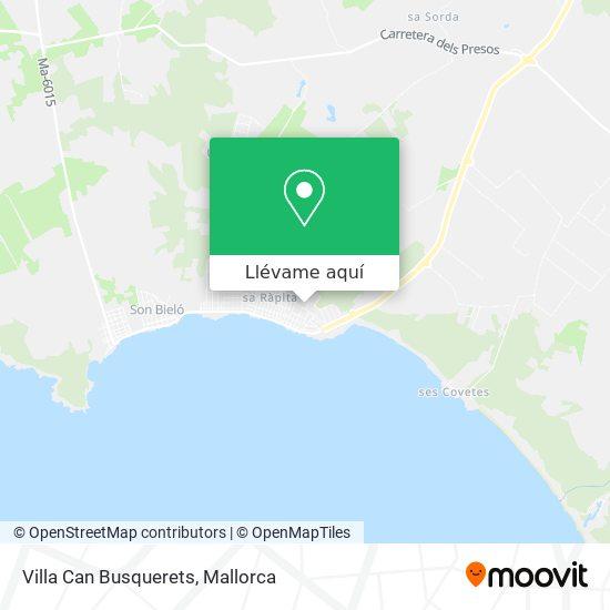 Mapa Villa Can Busquerets