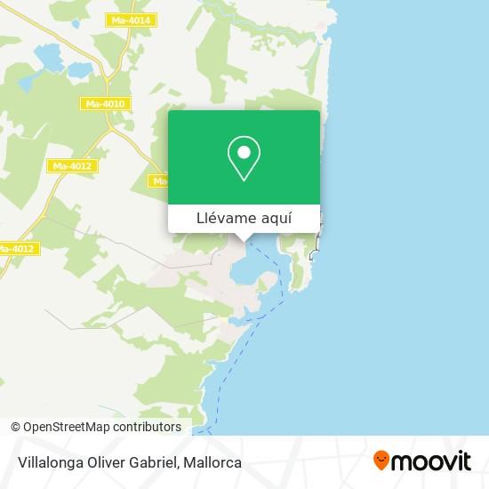 Mapa Villalonga Oliver Gabriel