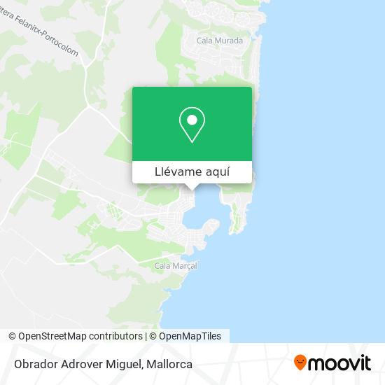 Mapa Obrador Adrover Miguel
