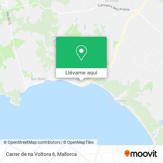 Mapa Carrer de na Voltora 6