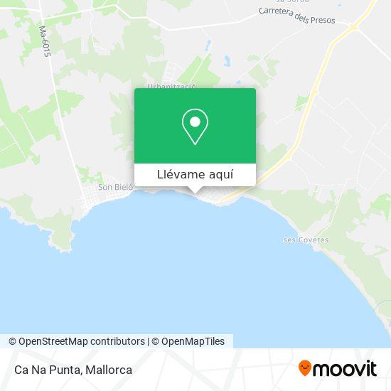 Mapa Ca Na Punta