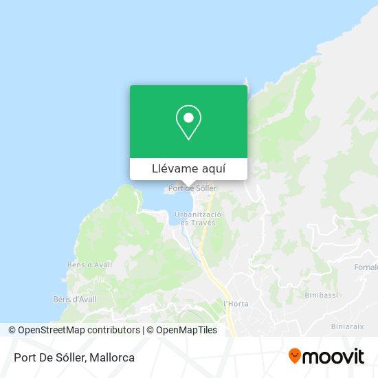 Mapa Port De Sóller