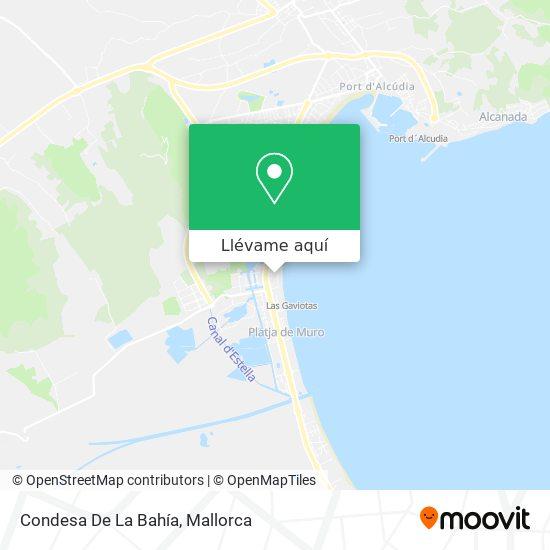 Mapa Condesa De La Bahia