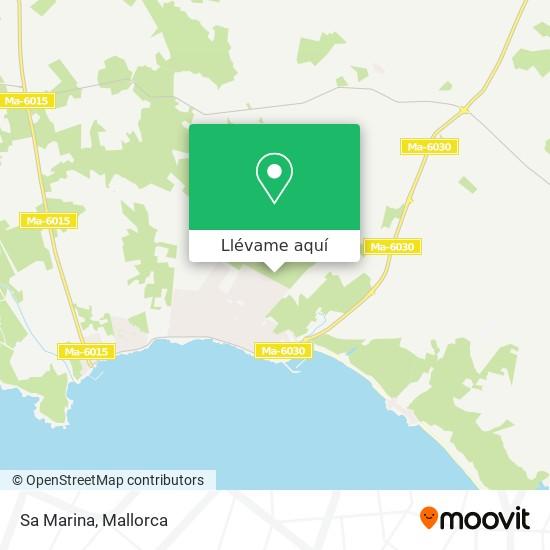 Mapa Sa Marina
