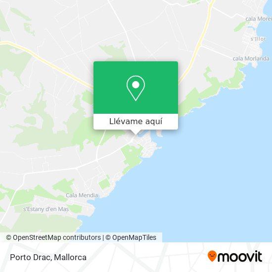 Mapa Aparthotel Porto Drach