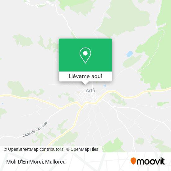 Mapa Molí D'En Morei