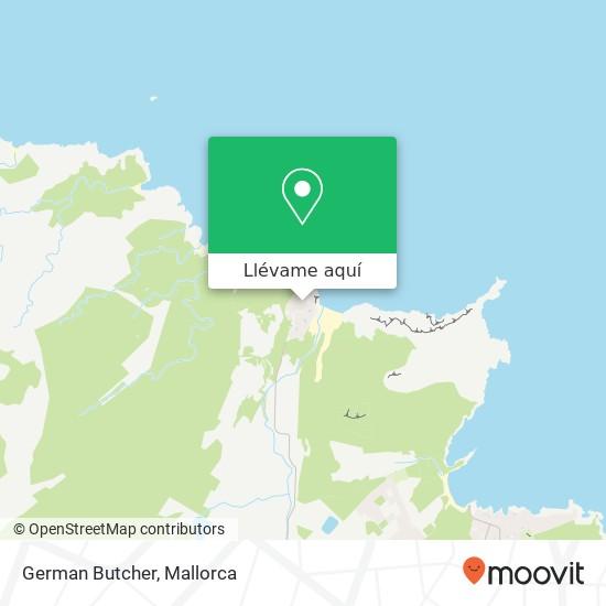 Mapa German Butcher