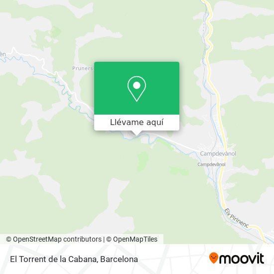 Como Llegar A El Torrent De La Cabana En Campdevanol En Autobus O Tren