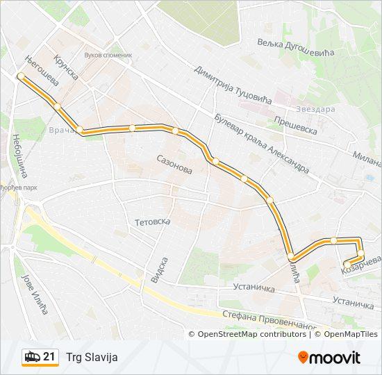 uciteljsko naselje beograd mapa 21 trasa: Vremena polazaka, stajališta i mape uciteljsko naselje beograd mapa
