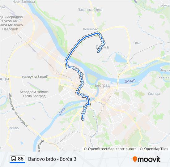 Mapa Borca Henex Registracija Vozila I Tehnicki Pregled Beograd