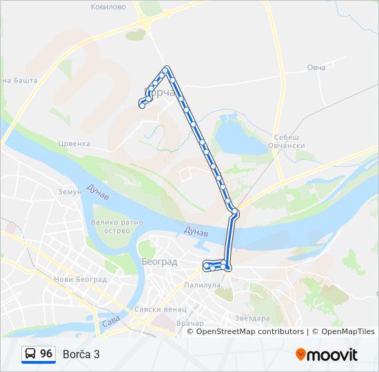 Linea 96 Horarios Mapas Y Paradas Borca 3