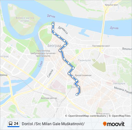 Ruta Ng 24 Iskedyul Ng Oras Hintuan Mapa Dorcol Src Milan